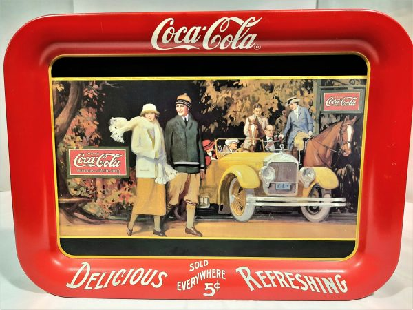 Coca Cola Metal Tray