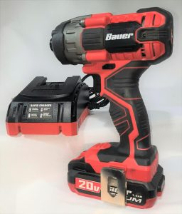 Bauer Impact Driver Battery and Charger