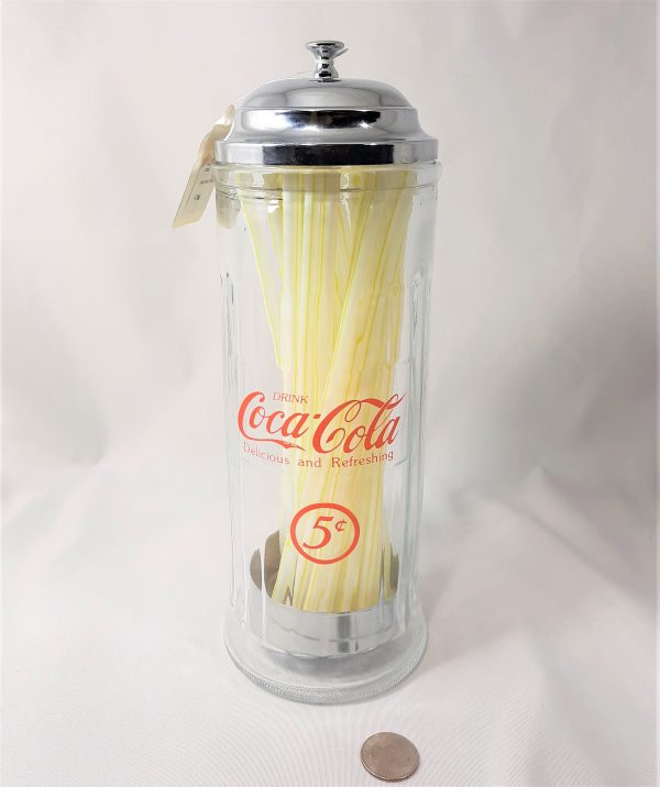 Coca-Cola Straw dispenser