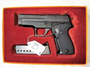 Sig Sauer 9mm Pistol with 2 clips