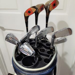 Vintage Sam Snead Muscle Back Golf Club Set