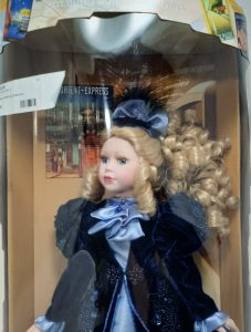 Orient Express Chloe Porcelain Doll