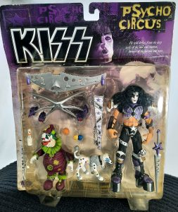 Psycho Circus Kiss Paul Stanley/ The Jester Action Figure