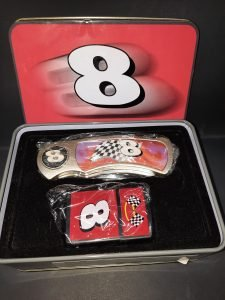 dale earnhardt junior knife and lighter set