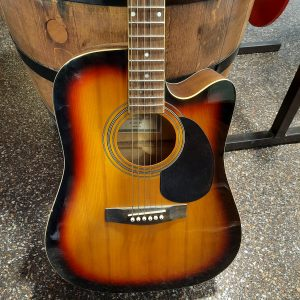 Johnson acoustic guitar