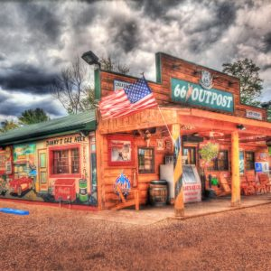 route 66 outpost photograph picture art