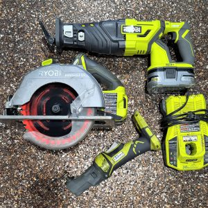 ryobi multi tool circular saw charger reciprocating sawsall sawzall